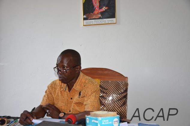 Le censeur du premier cycle fait l'état de lieu du Lycée de Mongouba
