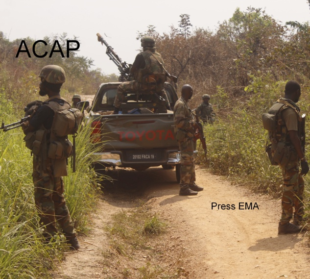 Les Forces Armées centrafricaines et leurs alliés poursuivent la sécurisation de la ville de Bangui et ses environs