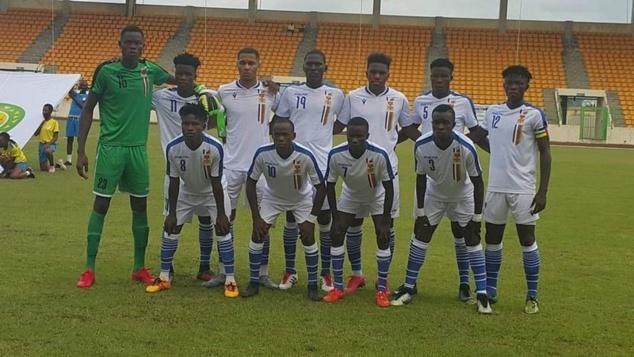 La République Centrafricaine et la Namibie se neutralisent 1 - 1