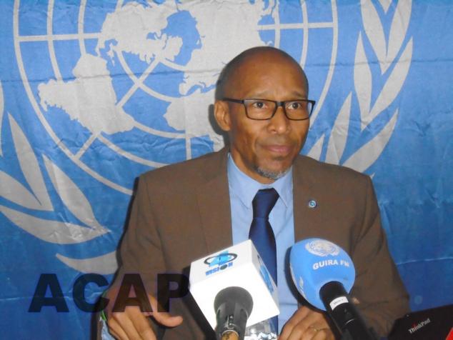 Vladimir Monteiro rappelle les actions menées par les forces onusiennes dans semaine du 10 au 16 février 2021