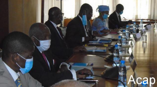 Première réunion du comité national économique et financier