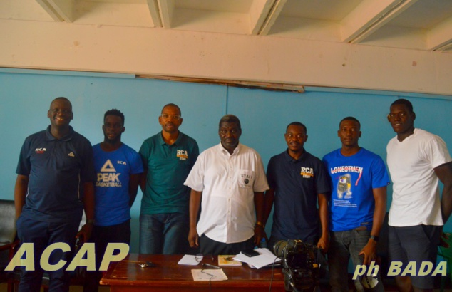 Les Fauves de bas-Oubangui de basketball qualifiés pour l'Afro basketball de Rwanda 2021