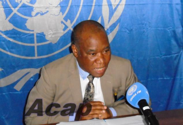 Le Directeur de la Communication revient sur les activités de la MINUSCA en Centrafrique