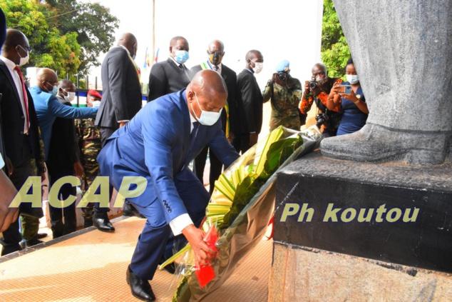 Célébration du 62ème anniversaire du décès de Barthélémy Boganda