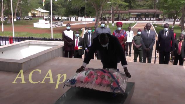 Le 62ème anniversaire du décès de Barthélémy Boganda à Bobangui