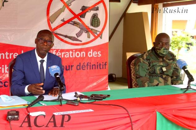 Contribution de la COMNAT-ALPC à la sécurité et la paix en Centrafrique