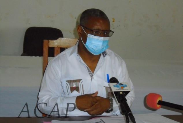 Le ministre de la Santé annonce le rebondissement du COVID-19 en Centrafrique