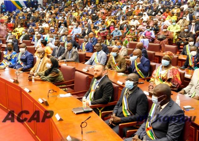 Rentrée parlementaire de la 7ème législature de l'Assemblée Nationale