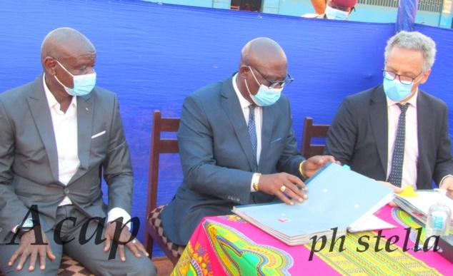 Signature de la convention du financement du projet  d'appui au Plan Sectoriel de l'Education