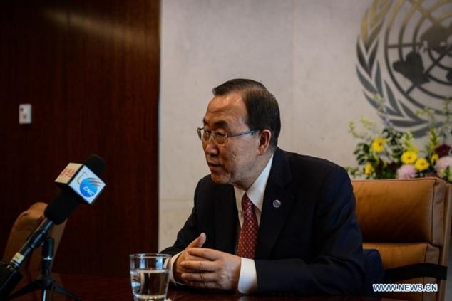"""Le chef de l'ONU souhaite """"un partenariat plus grand et plus fort"""" avec la Chine (INTERVIEW)"""