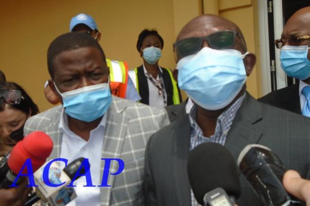 Une délégation de la communauté internationale en visite à Bangui pour la promotion de la paix