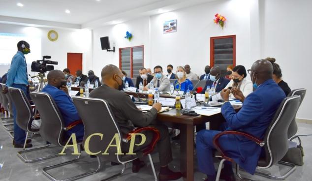 Première réunion du comité directeur conjoint du RCPCA-CEM avec les partenaires techniques et financiers