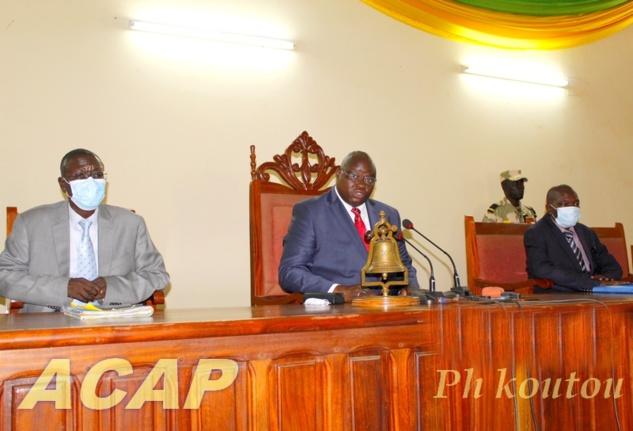 Ouverture  à Bangui des travaux de l'Assemblée générale des Magistrats