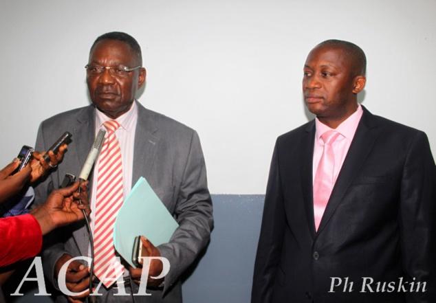 Le ministre de la Communication s'entretient avec le Président de l'Union des Journalistes de Centrafrique