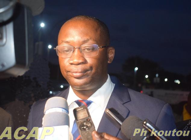 Le ministre de la Communication et des Média Porte-parole du gouvernement revient à Bangui