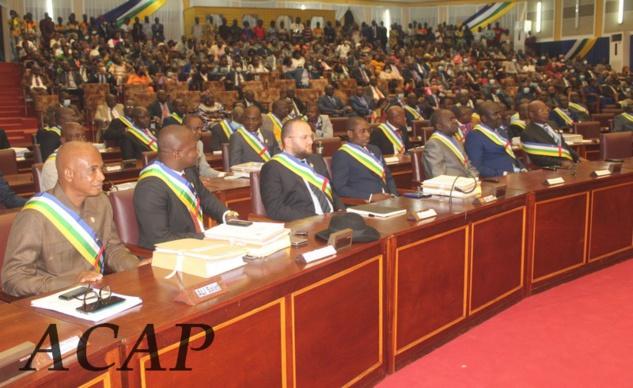 Ouverture de la 2ème session ordinaire de l'Assemblée nationale