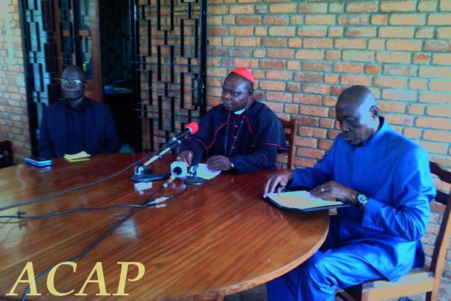 Dieudonné Cardinal Nzapalaïnga dément les informations sur l'argent octroyé par le Vatican
