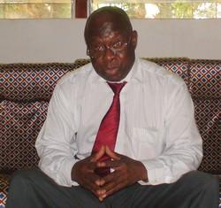 Jacob Gbéti, président du Comité olympique centrafricain