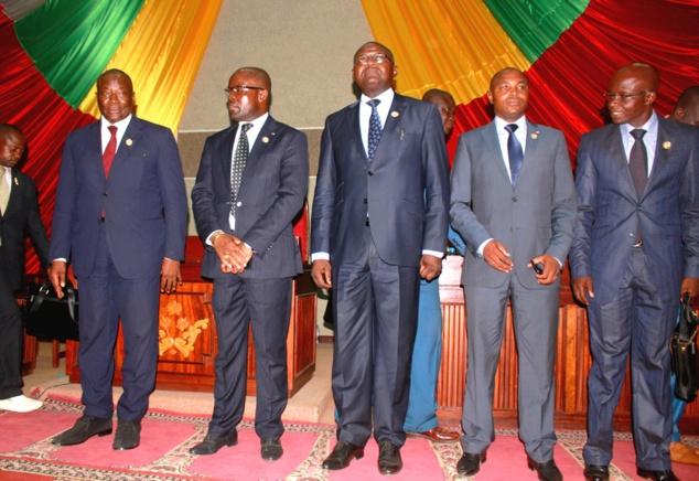 Abdou Karim Meckassoua est élu Président du bureau de l'Assemblée nationale centrafricaine par ses pairs