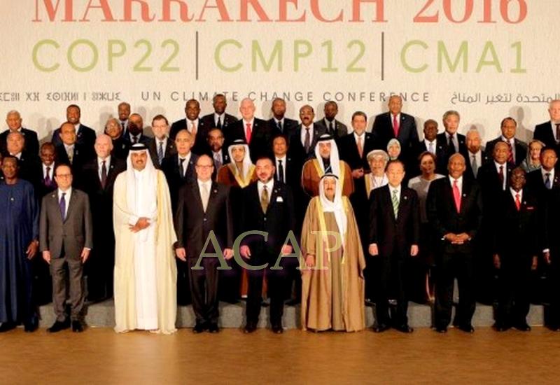 Les chefs d'Etat d'Afrique s'engagent à œuvrer collectivement et solidairement contre les changements climatiques