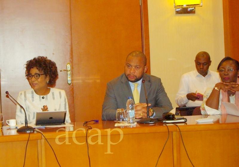 Michaëlle Jean s'entretient avec les leaders des partis politiques centrafricains