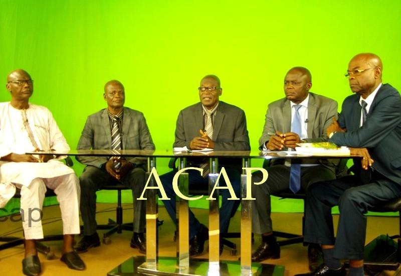 Vue des conférenciers sur le 59ème anniversaire de la proclamation de la RCA