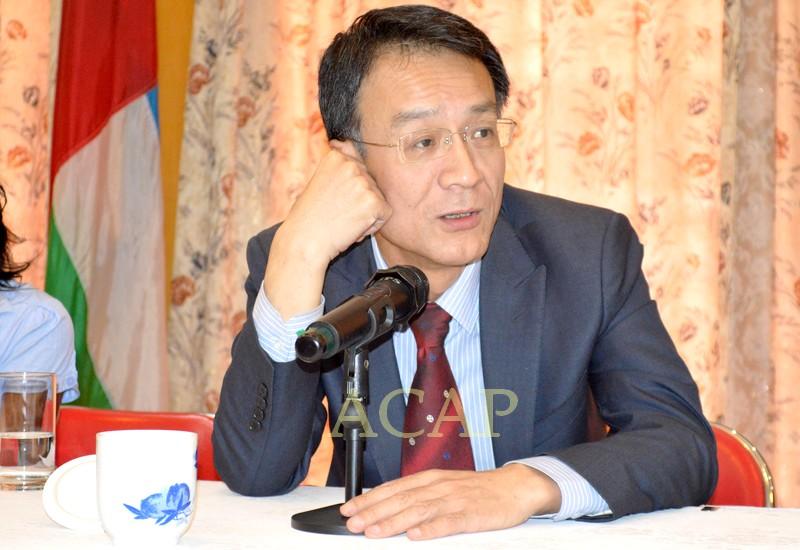 Le diplomate chinois Ma Fulin