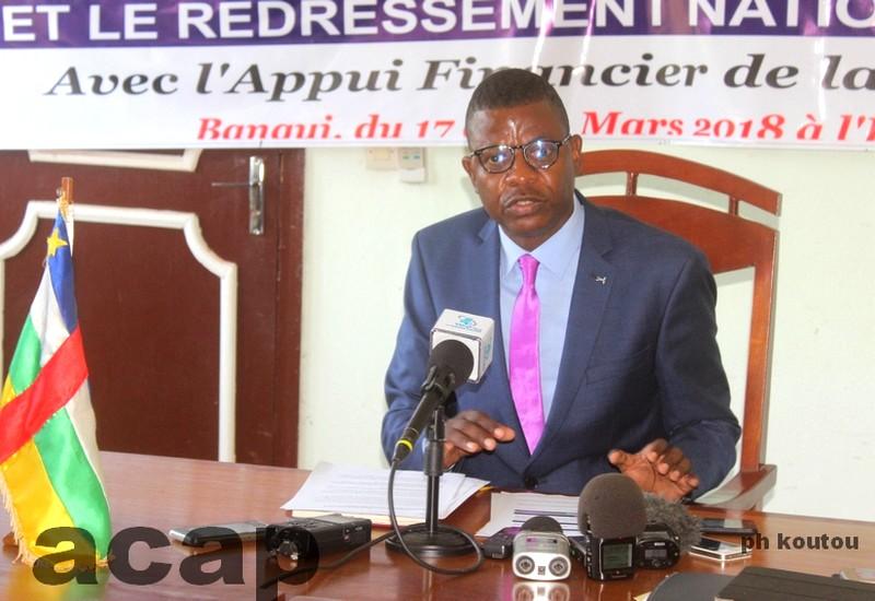 Tenue prochaine à Bangui d'une retraite interinstitutionnelle de haut niveau