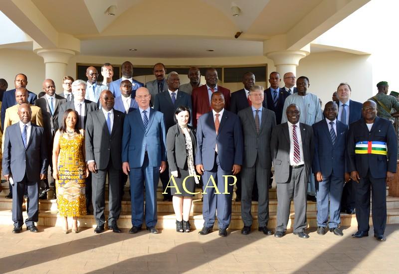 Première réunion à Bangui du Groupe Internationale de Soutien à la RCA