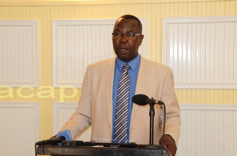 Le porte-parole de la présidence de la République, Albert Yaloké Mokpème