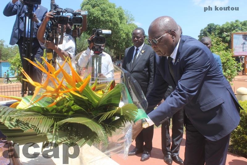 Célébration à Bangui de la 3ème journée des victimes des conflits