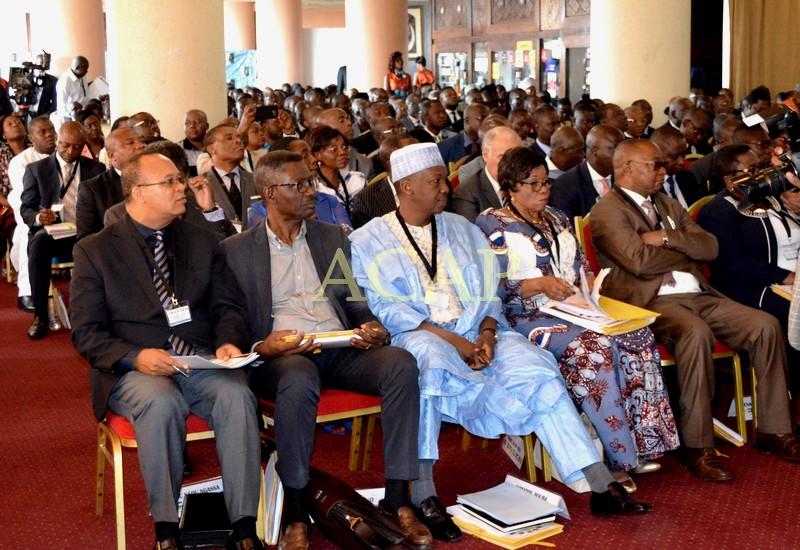 Vue partielle des participants au séminaire
