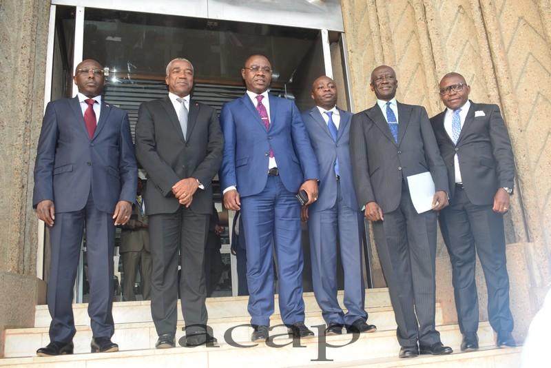 Le vice-gouverneur de la BEAC salut la stabilisation de l'économie centrafricaine