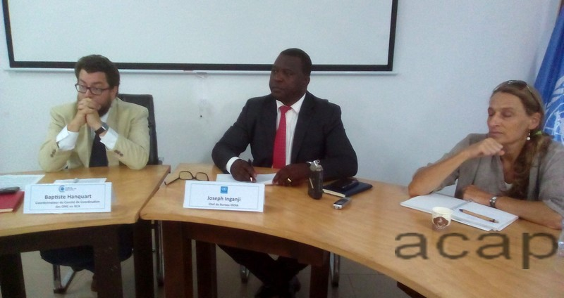 Le Coordonnateur Joseph Inganji appelle à un renforcement des capacités des acteurs humanitaires