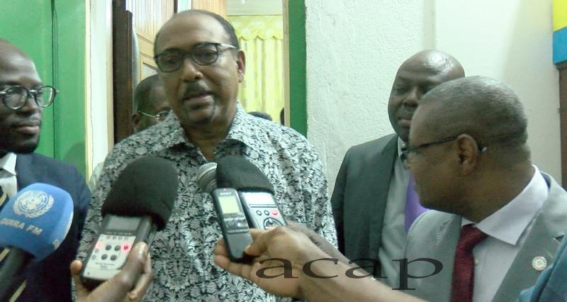 Le ministre Pierre Somsé reçoit en audience le Directeur exécutif de l'ONUSIDA, Michel Sidibé
