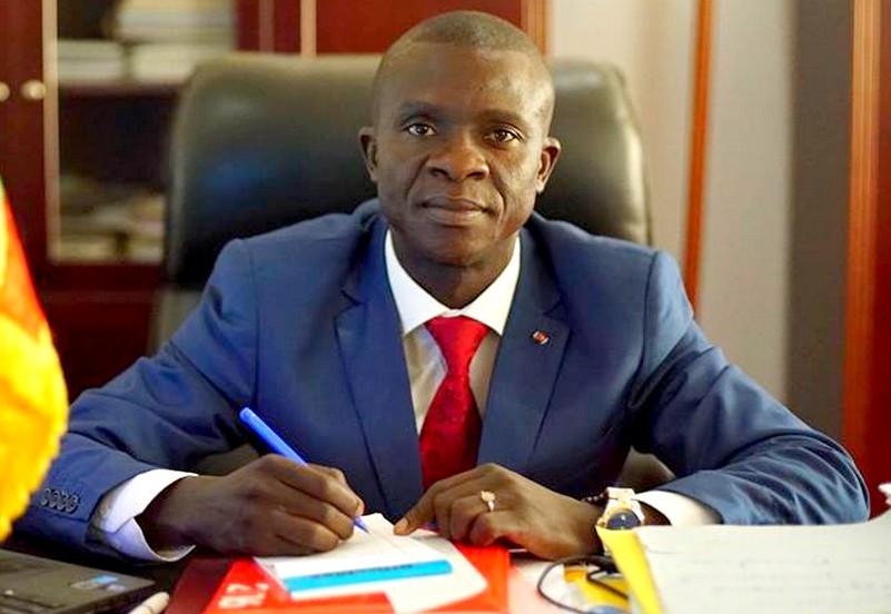 Le ministre Silvère-Simplice Ngarso de son vivant