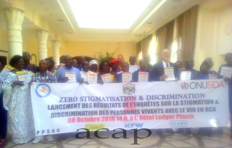 Rencontre du Directeur exécutif de l'ONUSIDA Michel Sidibé avec les membres de la société civile