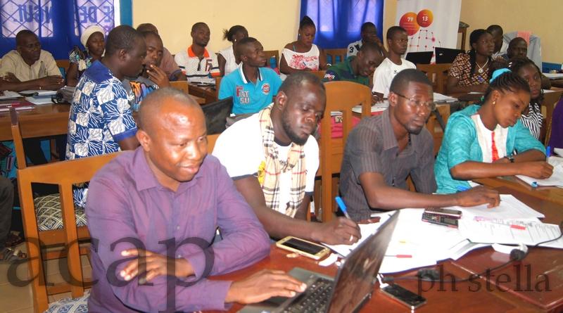 Vue des participants à la formation