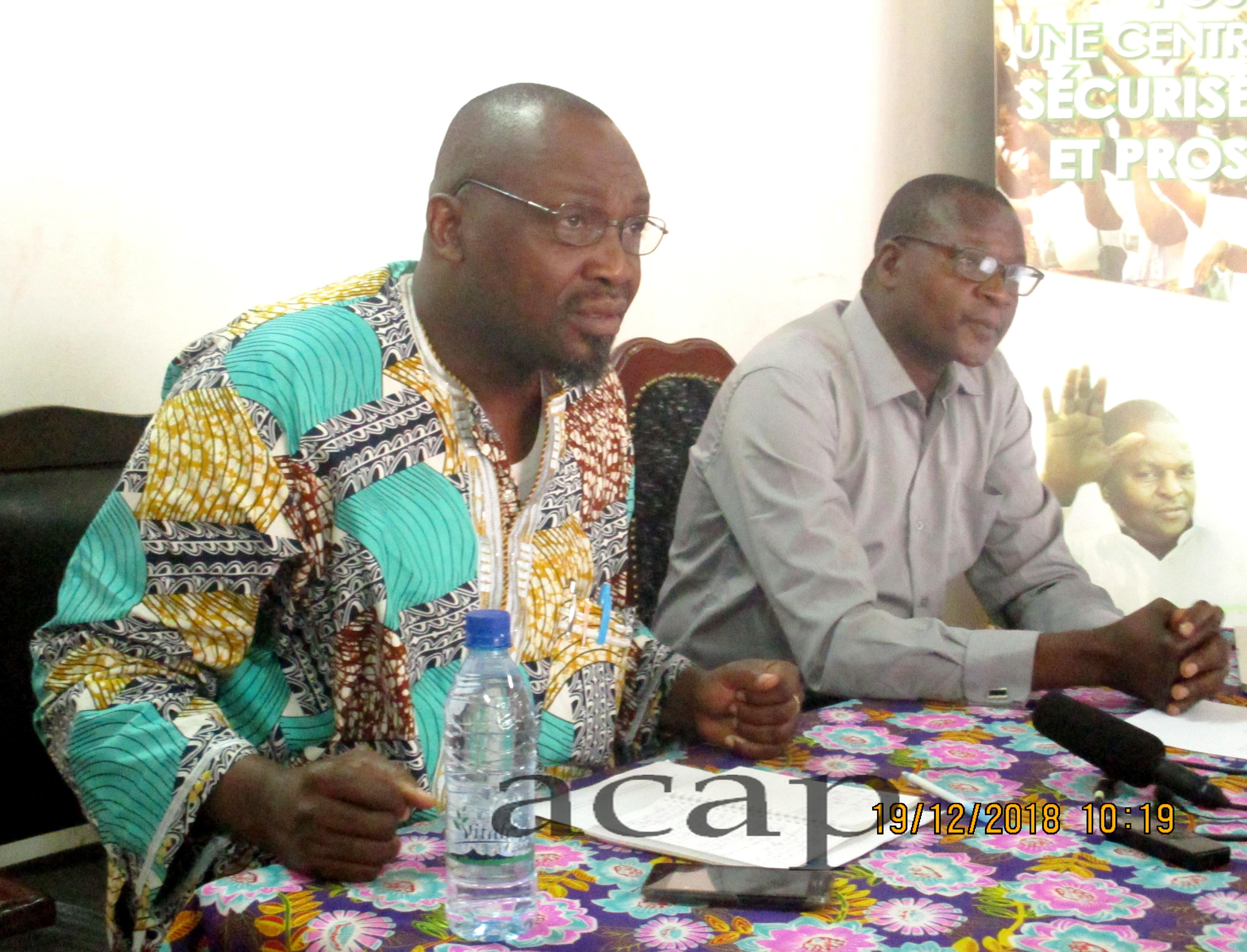 Conférence débat sur « La situation des droits de l'homme sur la société centrafricaine »