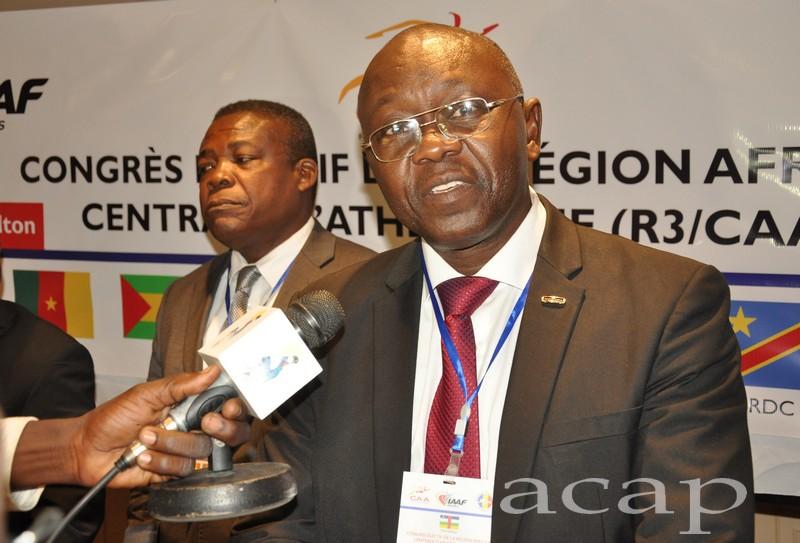 Le Centrafricain Bruno Konga élu 2ème vice-président de la Confédération Africaine d'Athlétisme