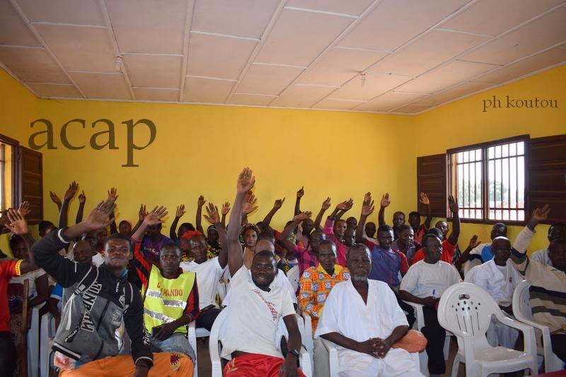 Fin à Baoro de la campagne d'information et de sensibilisation sur le désarmement dans la préfecture de la Nana Mambéré