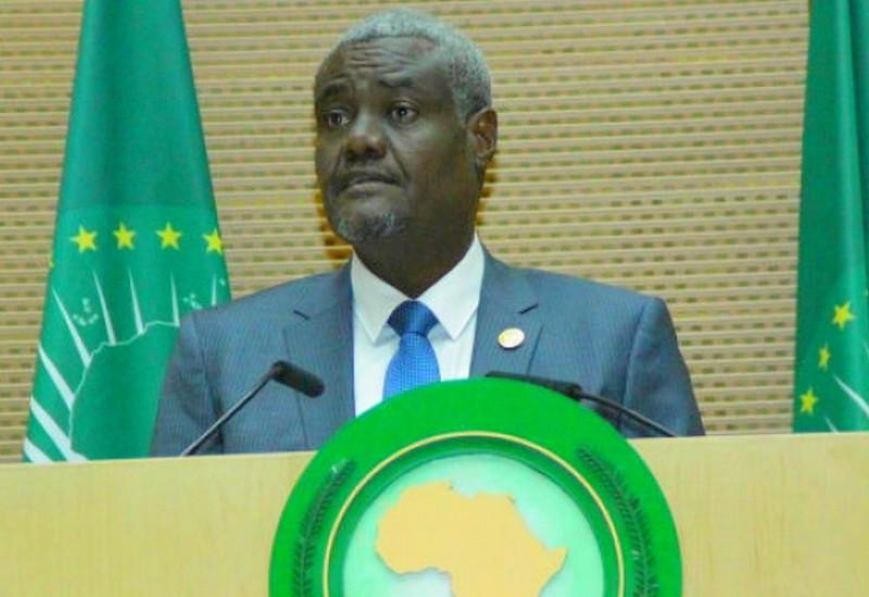 M. Moussa Faki Mahamat de l'Union africaine