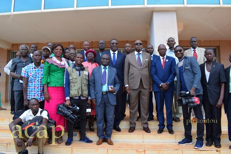 Célébration à Bangui de la 26ème journée mondiale de la liberté de la presse