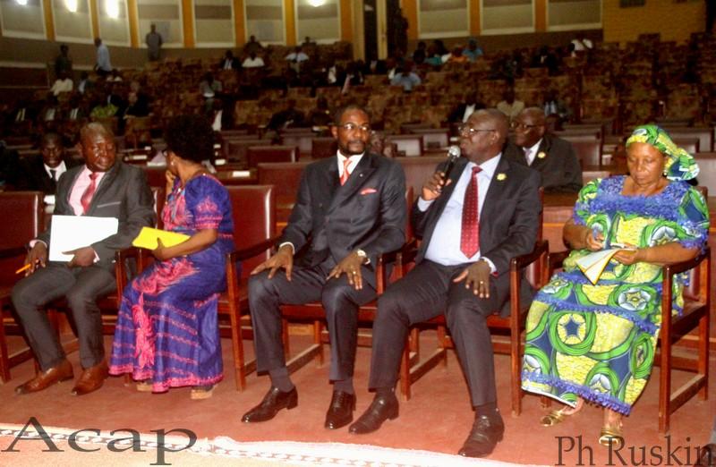 Ouverture à Bangui des travaux de présentation du plan des activités de la Jeunesse Pionnière Nationale