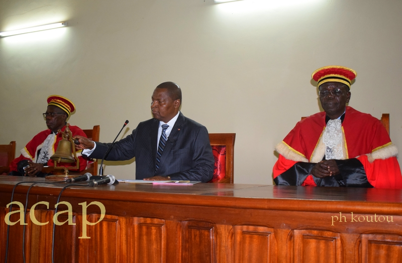 Le président Faustin Archange Touadéra appelle le garde des sceaux à corriger les dysfonctionnements de l'appareil judiciaire