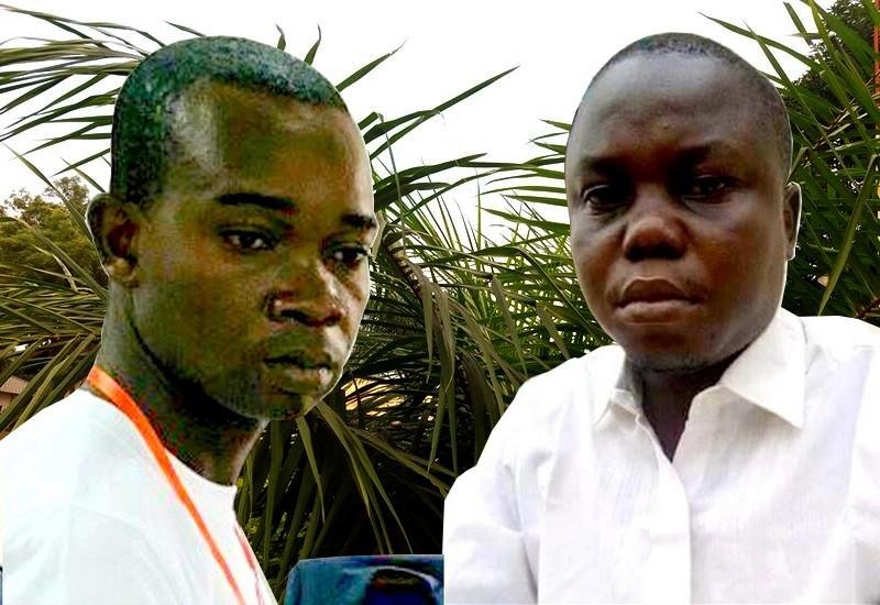 les deux victimes, MM. Yamboundé et Namkomana