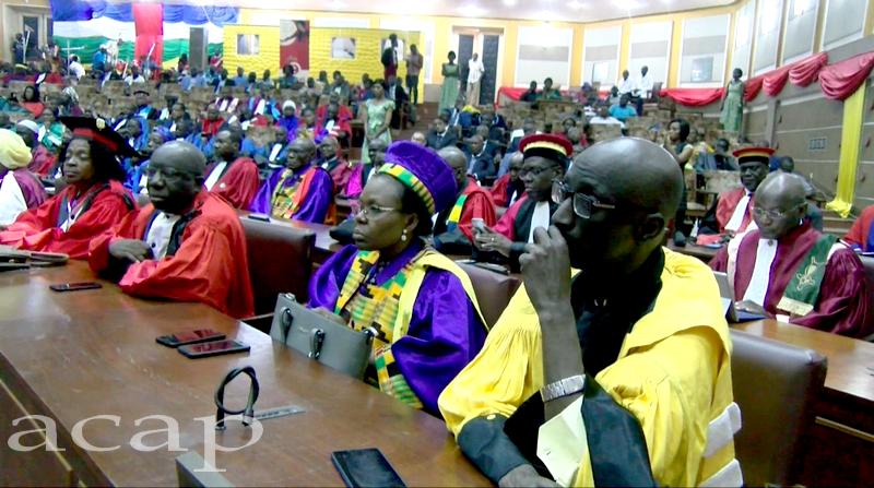 Vue des participants à la cérémonie d'ouverture de la 41ème session du CAMES