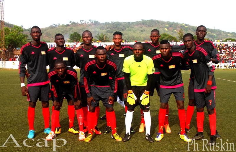 La fédération centrafricaine de football appuie l'AS Tempête-Mocaf pour la ligue des champions