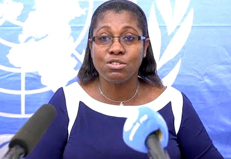 Mme Uwolowulakana Ikavi-Gbétanou, porte-parole par intérim de la MINUSCA