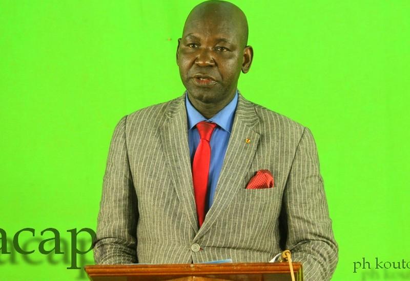 Le procureur général de la Cour d'appel de Bangui, M. Eric Didier Tambo